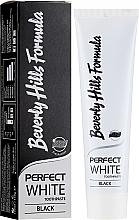 Духи, Парфюмерия, косметика Зубная паста - Beverly Hills Perfect White Black