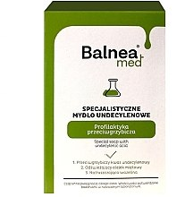 Духи, Парфюмерия, косметика Антибактериальное мыло - Barwa Balnea Special Soap With Undecylenic Acid
