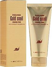 Духи, Парфюмерия, косметика Очищающий крем с муцином улитки - The Orchid Skin Premium Snail Cleansing Cream