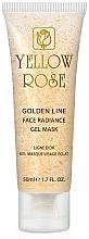 Духи, Парфюмерия, косметика Гелевая маска для лица с золотом (туба) - Yellow Rose Golden Line Face Radiance Gel Mask