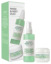 Духи, Парфюмерия, косметика Набор - Mario Badescu Cucumber Mask & Mist Duo Set (mask/56g+spray/118ml)
