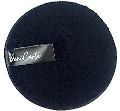 Духи, Парфюмерия, косметика Спонж для умывания, черный - Deni Carte Face Wash Microfiber Black