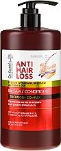 Духи, Парфюмерия, косметика Бальзам для ослабленных и склонных к выпадению волос с помпой - Dr. Sante Anti Hair Loss Balm