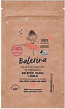 Духи, Парфюмерия, косметика Порошок для ног, рук и тела - Floslek Balerina Potassium Alum Powder For Foot, Hand And Body