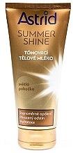 Духи, Парфюмерия, косметика Тонирующий лосьон для светлой кожи - Astrid Summer Shine