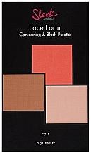 Духи, Парфюмерия, косметика Палитра для контурирования лица - Sleek Makeup Face Form Ultimate Contour Kit Fair