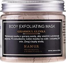 Духи, Парфюмерия, косметика Маска для тела с глиной Гассул - Namur Body Exfoliating Ghassoul Clay