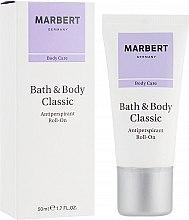 Духи, Парфюмерия, косметика Шариковый дезодорант - Marbert Bath & Body Classic Antiperspirant Roll-On