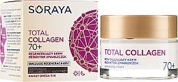 Духи, Парфюмерия, косметика Восстанавливающий крем против морщин днем и ночью 70+ - Soraya Total Collagen 70+