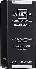Духи, Парфюмерия, косметика Крем вокруг глаз и губ - Terme Di Saturnia Black Label Contour Cream Eyes And Lips