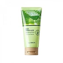 Духи, Парфюмерия, косметика Увлажняющая пенка для умывания с алоэ - The Saem Jeju Fresh Aloe Cleansing Foam