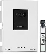 Духи, Парфюмерия, косметика Korloff Paris In White Intense - Парфюмированная вода (пробник)