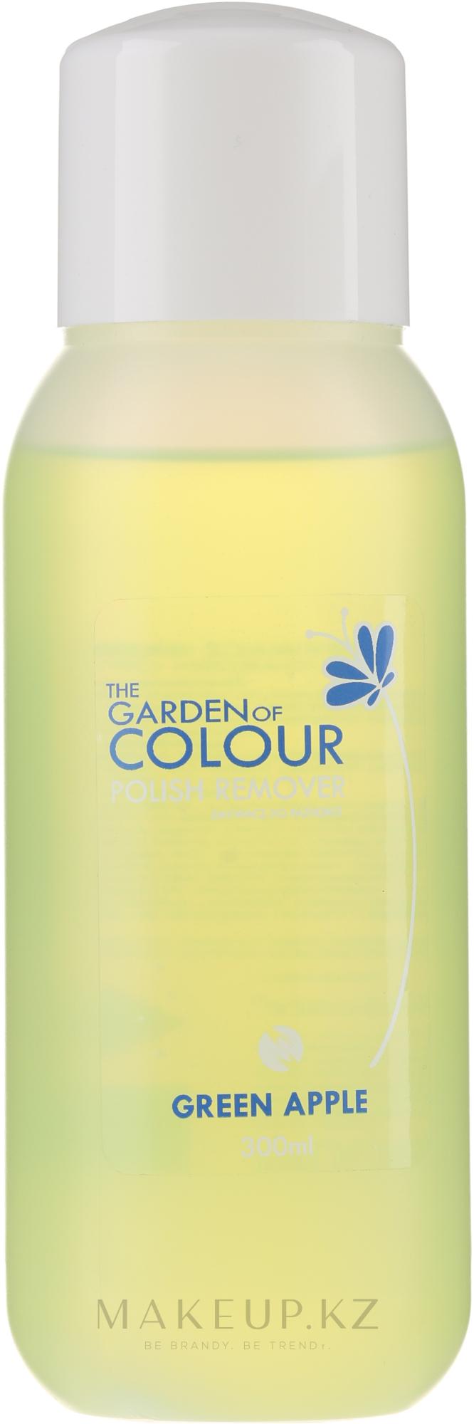 Жидкость для снятия лака - Silcare The Garden Of Colour Polish Remover Green Apple — фото 300 ml