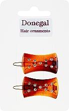 Духи, Парфюмерия, косметика Заколка для волос,2 шт - Donegal