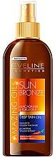 Духи, Парфюмерия, косметика Масло для загара - Eveline Cosmetics Amazing Oils Sun Bronze Deep Tan Oil