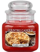 Духи, Парфюмерия, косметика Ароматическая свеча в банке - Country Candle Warm Apple Pie