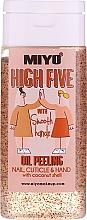 Духи, Парфюмерия, косметика Скраб для рук и ногтей с кокосовым маслом - Miyo High Five Oil Peeling