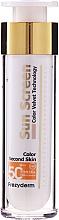 Духи, Парфюмерия, косметика Солнцезащитный крем для лица - Frezyderm Sun Screen Color Velvet Face Cream SPF 50+