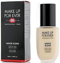 Духи, Парфюмерия, косметика Тональная основа - Make Up For Ever Water Blend Foundation