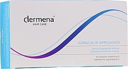 Духи, Парфюмерия, косметика Ампулы для волос от выпадения волос для женщин - Dermena Hair Care Ampoules Against Hair Loss
