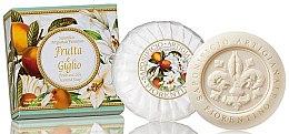 """Натуральное мыло """"Фрукты и Лилия"""" - Saponificio Artigianale Fiorentino Fruits&Lily Soap — фото N1"""