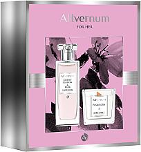 Духи, Парфюмерия, косметика Allvernum Cherry Blossom & Musk - Набор (edp/50ml + candle/100g)