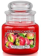 Духи, Парфюмерия, косметика Ароматическая свеча в банке - Country Candle Macintosh Apple