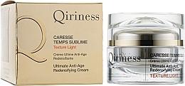 Духи, Парфюмерия, косметика Антивозрастной, восстанавливающий крем комплексного действия - Qiriness Caresse Temps Sublime Light