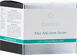 Духи, Парфюмерия, косметика Сыворотка против акне локального действия - Clarena Bio Dermasebum Line Max Anti Acne Serum