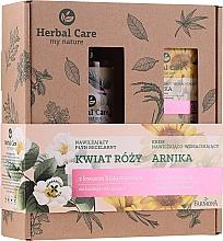 Духи, Парфюмерия, косметика Набор - Farmona Herbal Care Arnica & Rose Flower (f/cr/50ml + micellar water/400ml)
