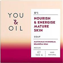 Духи, Парфюмерия, косметика Питательное мыло для зрелой кожи - You & Oil Nourish & Energise Mature Skin