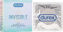 Духи, Парфюмерия, косметика Презервативы, 3шт. - Durex Invisible Close Fit