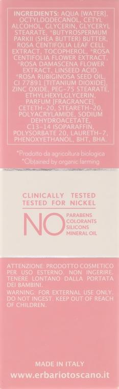 Крем для чувствительной кожи - Erbario Toscano Pure Rose 3r Biocomplex Cream — фото N3