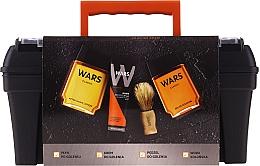 Духи, Парфюмерия, косметика Набор - Wars (ash/lot/90ml + sh/cr/65ml + edc/90ml + sh/brush + case)
