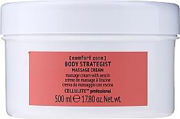 Духи, Парфюмерия, косметика Антицеллюлитный массажный крем для тела c эсцином - Comfort Zone Body Strategist Massage Cream