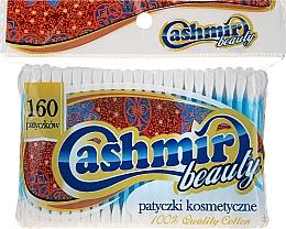 Духи, Парфюмерия, косметика Ватные палочки в полиэтиленовой упаковке, 160шт - Cashmir