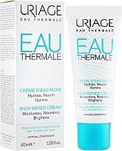 Духи, Парфюмерия, косметика Обогащенный увлажняющий крем - Uriage Eau Thermale Rich Water Cream