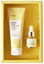 Духи, Парфюмерия, косметика Набор - iUNIK Propolis Edition Skin Care Set (mask/60ml + ser/15ml)