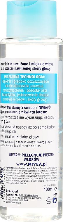 Увлажняющий шампунь - Nivea Micellar Shampoo — фото N2