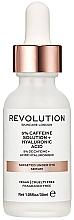 Духи, Парфюмерия, косметика Сыворотка увлажняющая для кожи под глазами - Revolution Skincare 5% Caffeine Solution + Hyaluronic Acid