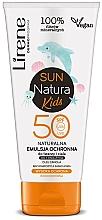 Духи, Парфюмерия, косметика Эмульсия для загара SPF 50+, детская - Lirene Sun Natura Kids Protective Emulsion SPF50+