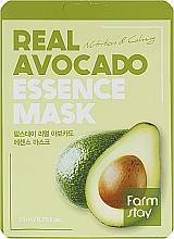 Духи, Парфюмерия, косметика Тканевая маска для лица с экстрактом авокадо - FarmStay Real Avocado Essence Mask