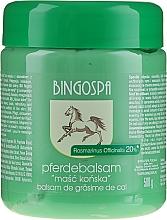 Духи, Парфюмерия, косметика Конская мазь с экстрактом розмарина - BingoSpa Ointment Horse With Rosemary