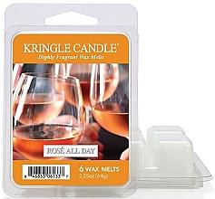 Духи, Парфюмерия, косметика Воск для аромалампы - Kringle Candle Rose All Day Wax Melts