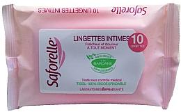 Духи, Парфюмерия, косметика Салфетки для интимной гигиены - Saforelle Biodegradable Intimate Wipes