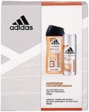 Духи, Парфюмерия, косметика Набор - Adidas Adipower Women (sh/gel/250ml + deo/spray/150ml)