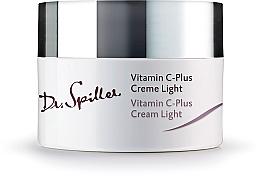 Духи, Парфюмерия, косметика Крем для лица, дневной легкий - Dr. Spiller Vitamin C-Plus Cream Light