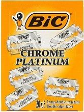 "Духи, Парфюмерия, косметика Набор лезвий для станка ""Chrome Platinum"", 100шт - Bic"