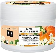 """Духи, Парфюмерия, косметика Масло для тела """"Тыква и Жасмин"""" - AA Super Fruits & Herbs Body Butter"""