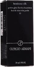 Духи, Парфюмерия, косметика Тональный крем - Giorgio Armani Luminous Silk Foundation